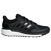 Buy adidas Supernova ST Women's Running Shoes, Black Online at johnlewis.com