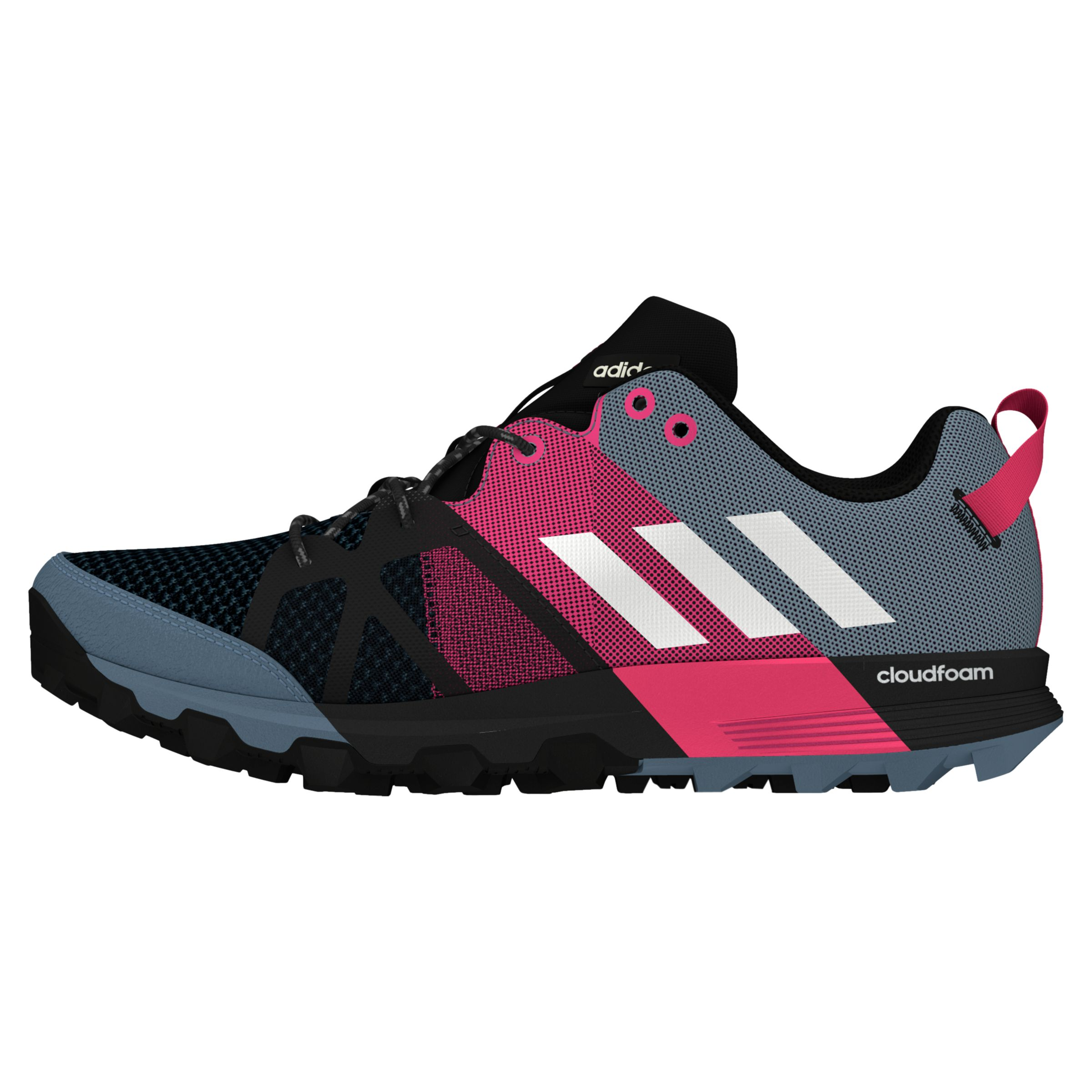 adidas Kanadia 8.1 Trail Women's Running Shoes, Raw Steel at
