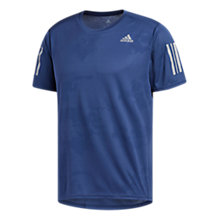 Buy adidas Response T-Shirt, Noble Indigo Online at johnlewis.com