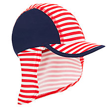 Buy John Lewis Children's Stripe Sun Hat, Multi Online at johnlewis.com