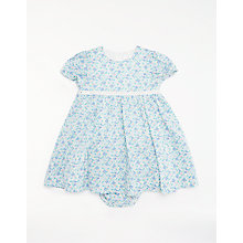 Buy John Lewis Baby Layette Floral Dress and Knickers Set, Multi Online at johnlewis.com