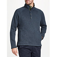 Buy John Lewis Knit Look Funnel Neckline Fleece Online at johnlewis.com