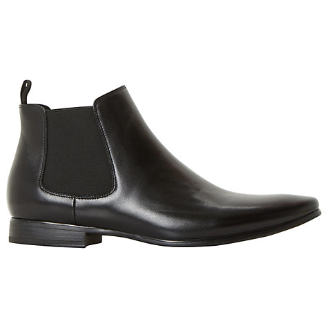 Buy Dune Malbec Leather Chelsea Boots Online at johnlewis.com