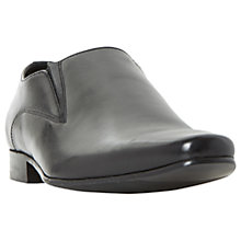 Buy Dune Player Leather Loafer, Black Online at johnlewis.com