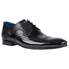 Buy Ted Baker Oakke Derby Brogue Shoes Online at johnlewis.com