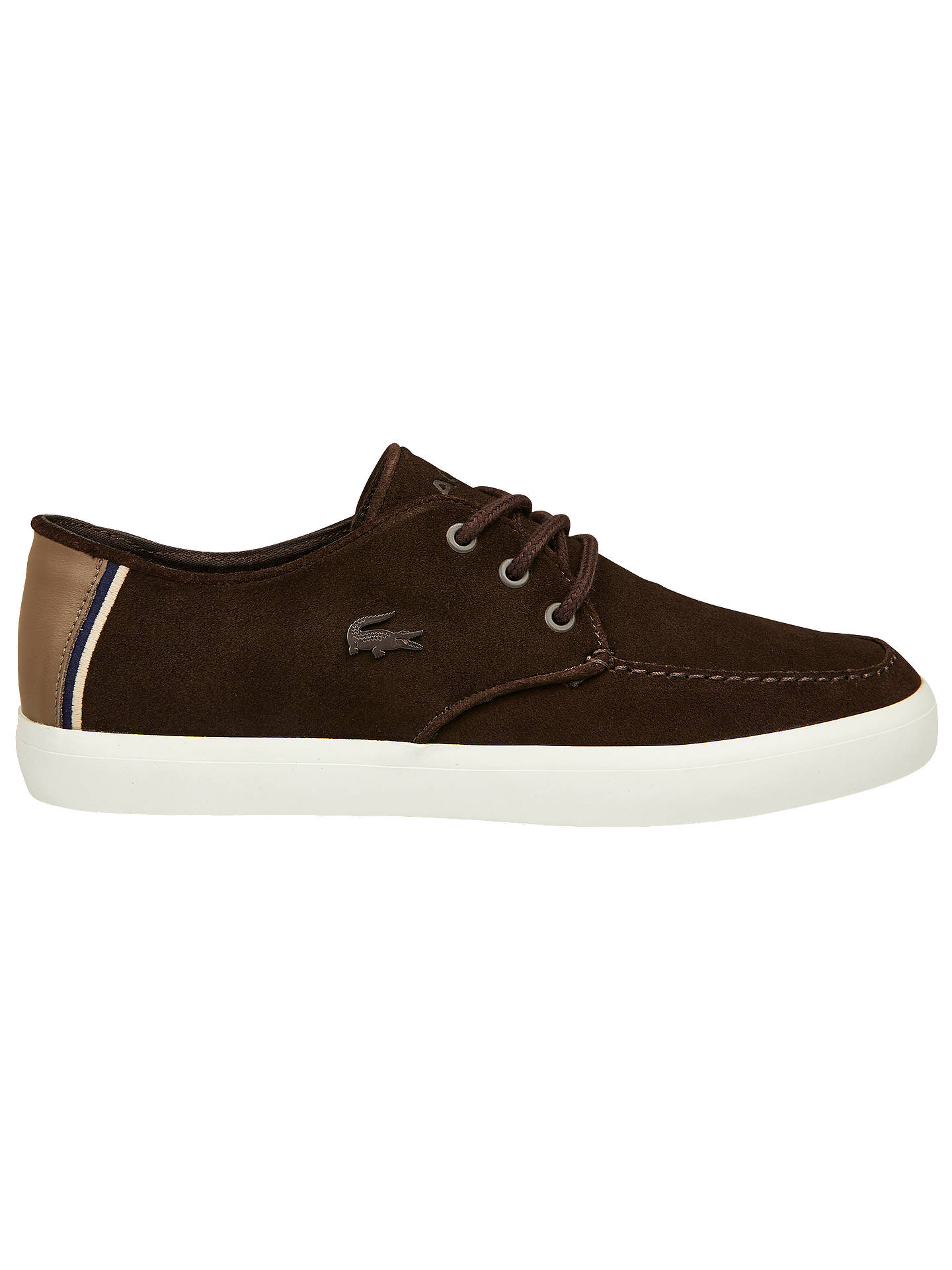 ec1bddba0 Lacoste Servin Suede Trainers at John Lewis   Partners