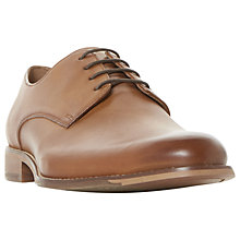 Buy Dune Bodhi Gibson Shoes, Tan Leather Online at johnlewis.com
