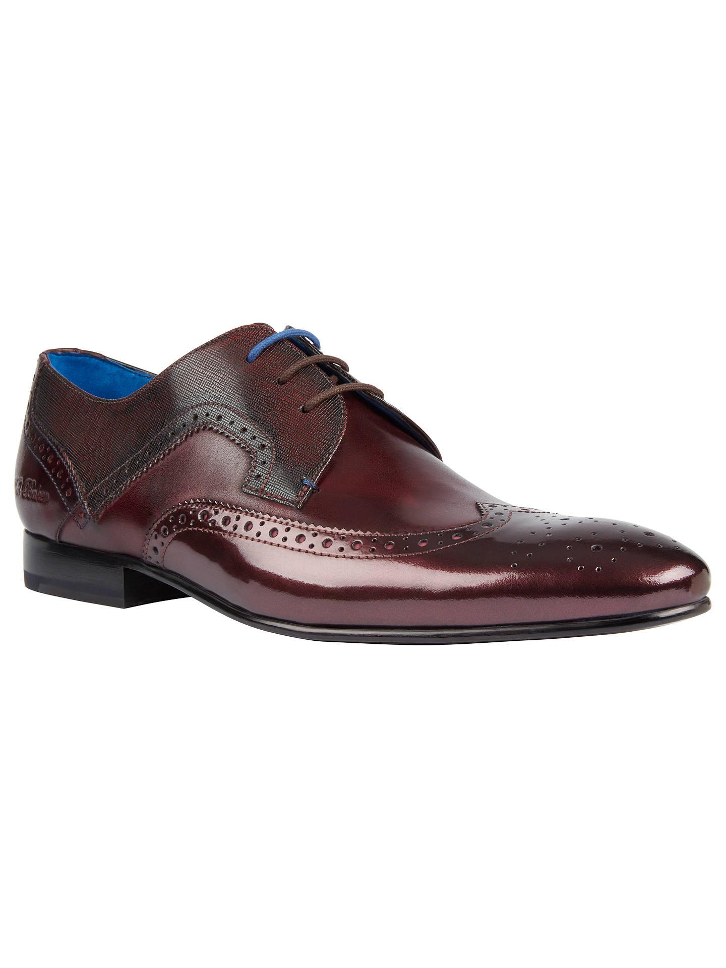 7e9104470 Ted Baker Oakke Derby Brogue Shoes at John Lewis   Partners