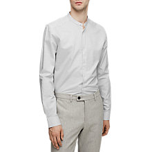 Buy Reiss McRae Slim Grandad Collar Shirt Online at johnlewis.com