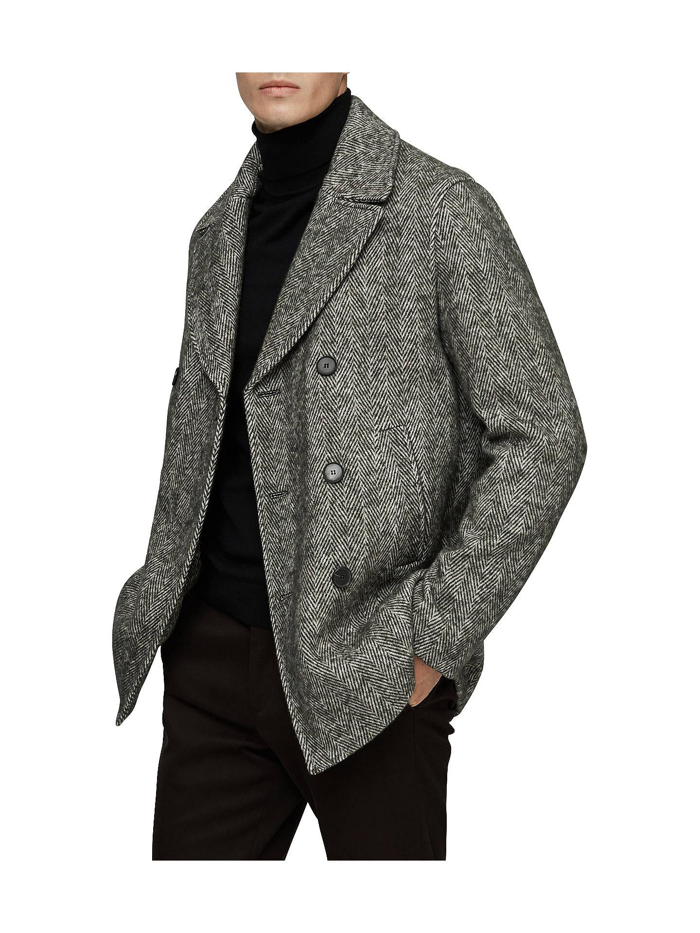 ea480344995 Buy Reiss Bogart Herringbone Pea Coat