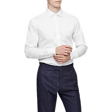 Buy Reiss Laurel Formal Shirt, White Online at johnlewis.com