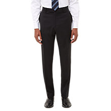 Buy Jaeger Wool Twill Regular Fit Suit Trousers, Black Online at johnlewis.com