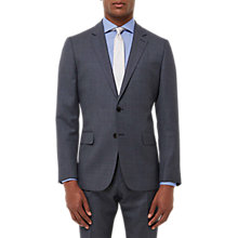 Buy Jaeger Wool Melange Birdseye Regular Fit Suit Jacket, Grey Online at johnlewis.com