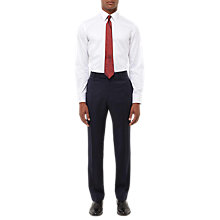 Buy Jaeger Wool Twill Regular Fit Suit Trousers, Navy Online at johnlewis.com