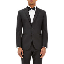 Buy Jaeger Wool Mohair Regular Fit Dress Suit Jacket, Black Online at johnlewis.com