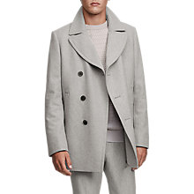 Buy Reiss Ellis Pea Coat Online at johnlewis.com