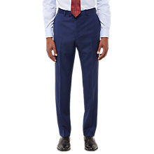 Buy Jaeger Wool Twill Slim Fit Suit Trousers, Royal Blue Online at johnlewis.com