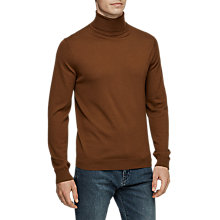 Buy Reiss Olive Roll Neck Jumper Online at johnlewis.com