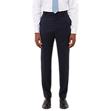 Buy Jaeger Wool Twill Slim Fit Suit Trousers, Navy Online at johnlewis.com