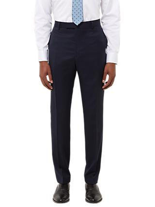 Jaeger Wool Twill Slim Fit Suit Trousers, Navy