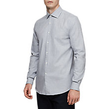 Buy Reiss Leonardo Casual Shirt, Ice Blue Online at johnlewis.com