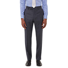 Buy Jaeger Wool Melange Birdseye Regular Fit Suit Trousers, Grey Online at johnlewis.com