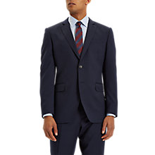 Buy Jaeger Wool Twill Regular Fit Suit Jacket, Navy Online at johnlewis.com