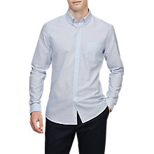 Buy Reiss Chuck Casual Shirt, Soft Blue Online at johnlewis.com