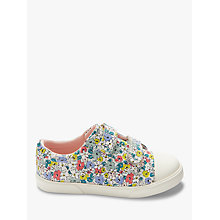 Buy John Lewis Children's Ellie Ditsy Rip-Tape Shoes, Multi Online at johnlewis.com