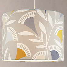 Buy Scion Noukka Cotton Lampshade, Grey Online at johnlewis.com