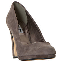 Buy Dune Aries Platform Block Heeled Court Shoes Online at johnlewis.com
