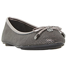 Buy Dune Wide Fit Hype Bow Ballet Pumps Online at johnlewis.com
