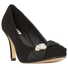 Buy Dune Beaches Jewelled Stiletto Heeled Court Shoes Online at johnlewis.com