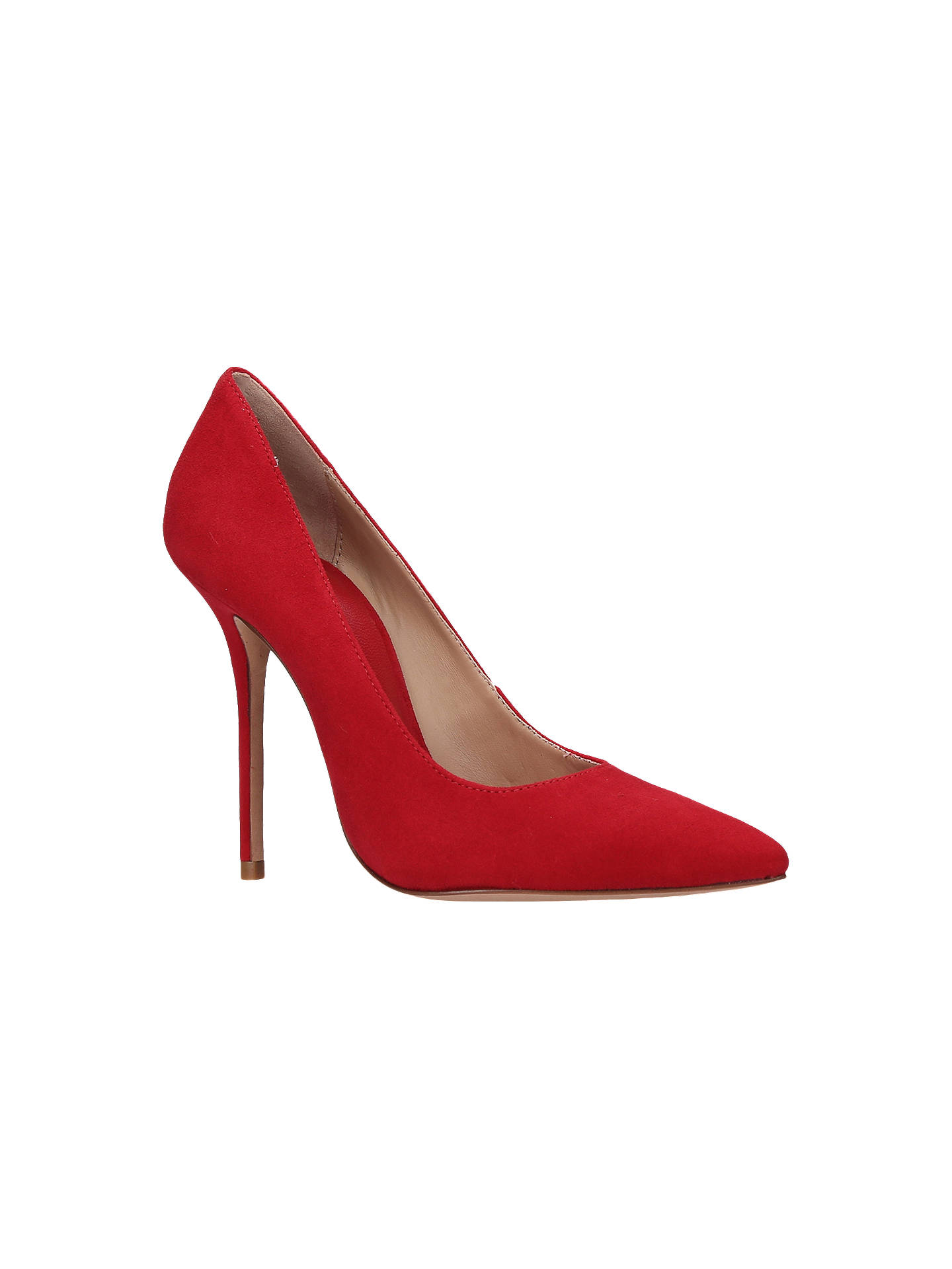 BuyKurt Geiger Ellen High Heel Court Shoes, Red, 5 Online at johnlewis.com