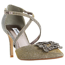 Buy Dune Deeana Cross Strap Embellished Court Shoes Online at johnlewis.com