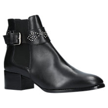 Buy Kurt Geiger Dinny Block Heeled Ankle Chelsea Boots, Black Online at johnlewis.com