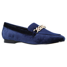 Buy Carvela Lord Chain Loafers, Royal Blue Online at johnlewis.com