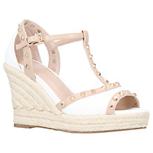 Buy Carvela Stark Wedge Heel Peep Toe Sandals Online at johnlewis.com