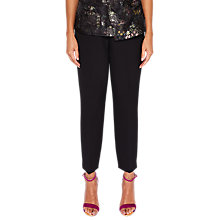 Buy Ted Baker Oibiat Tailored Skinny Leg Suit Trousers, Black Online at johnlewis.com