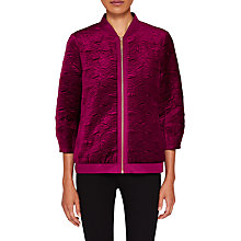 Buy Ted Baker Bartel Quilted Velvet Bomber Jacket Online at johnlewis.com