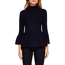 Buy Ted Baker Lislie Pleated Jumper Online at johnlewis.com