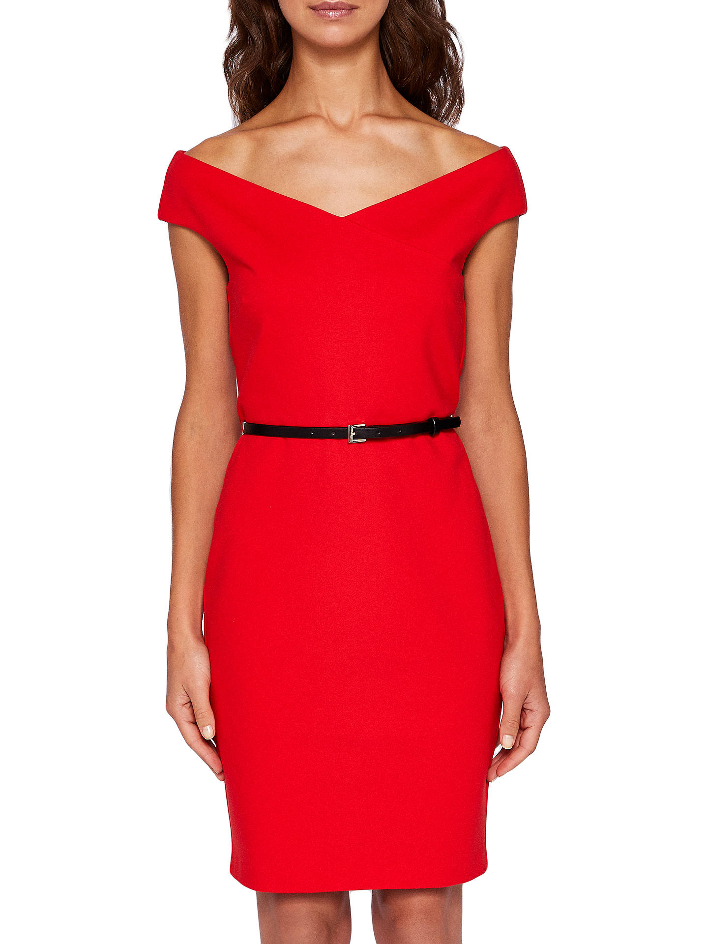 60789f3fe Buy Ted Baker Brynia Off The Shoulder Bodycon Dress