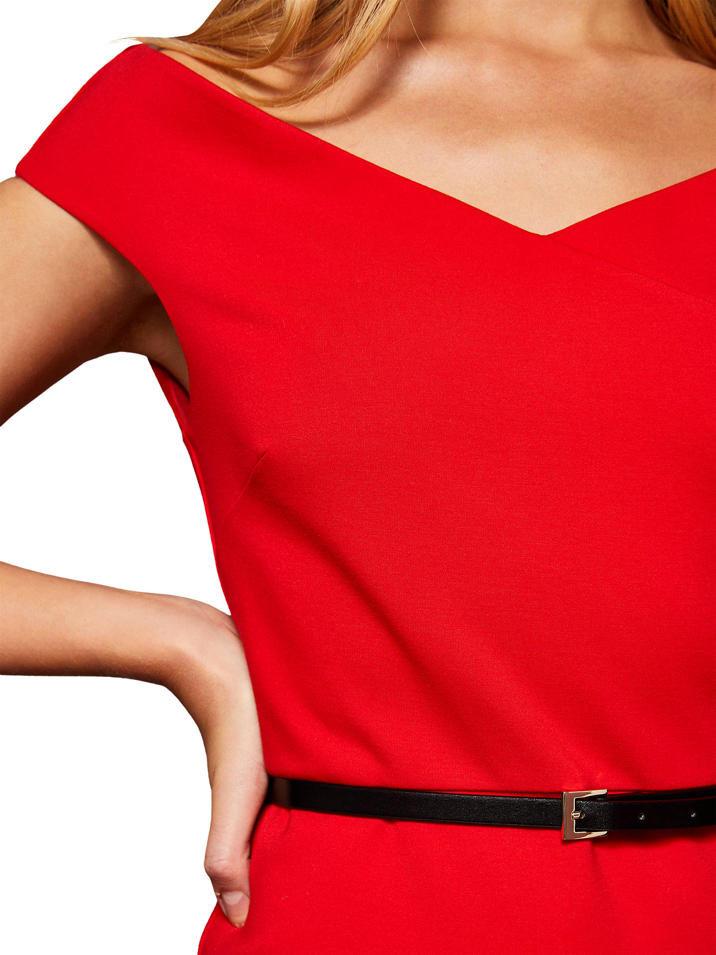 Out ted baker red bodycon dress business