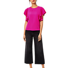 Buy Warehouse Ruffle Top Online at johnlewis.com
