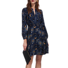Buy Whistles Ebony Galaxy Flippy Dress, Multi Online at johnlewis.com