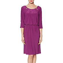 Buy Gina Bacconi Gaia Keyhole Design Shift Dress Online at johnlewis.com