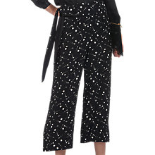 Buy Whistles Star Constellation Trousers, Black/White Online at johnlewis.com