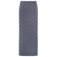 Buy White Stuff Filly Jersey Maxi Skirt, Midnight Blue Print Online at johnlewis.com