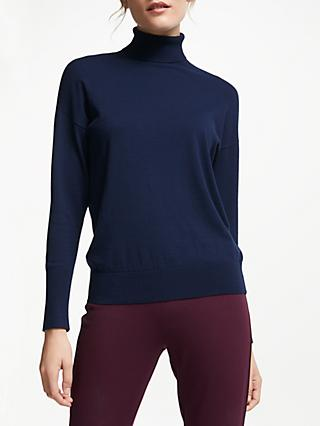 Winser London Classic Roll Neck Jumper