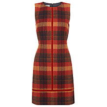 Buy Hobbs Hutton Shift Dress, Multi/Marmalade Online at johnlewis.com